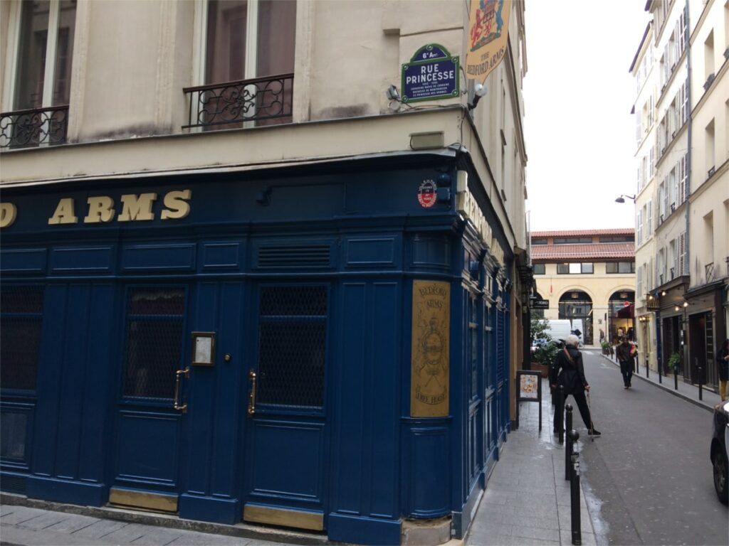 Bar i paris centrum
